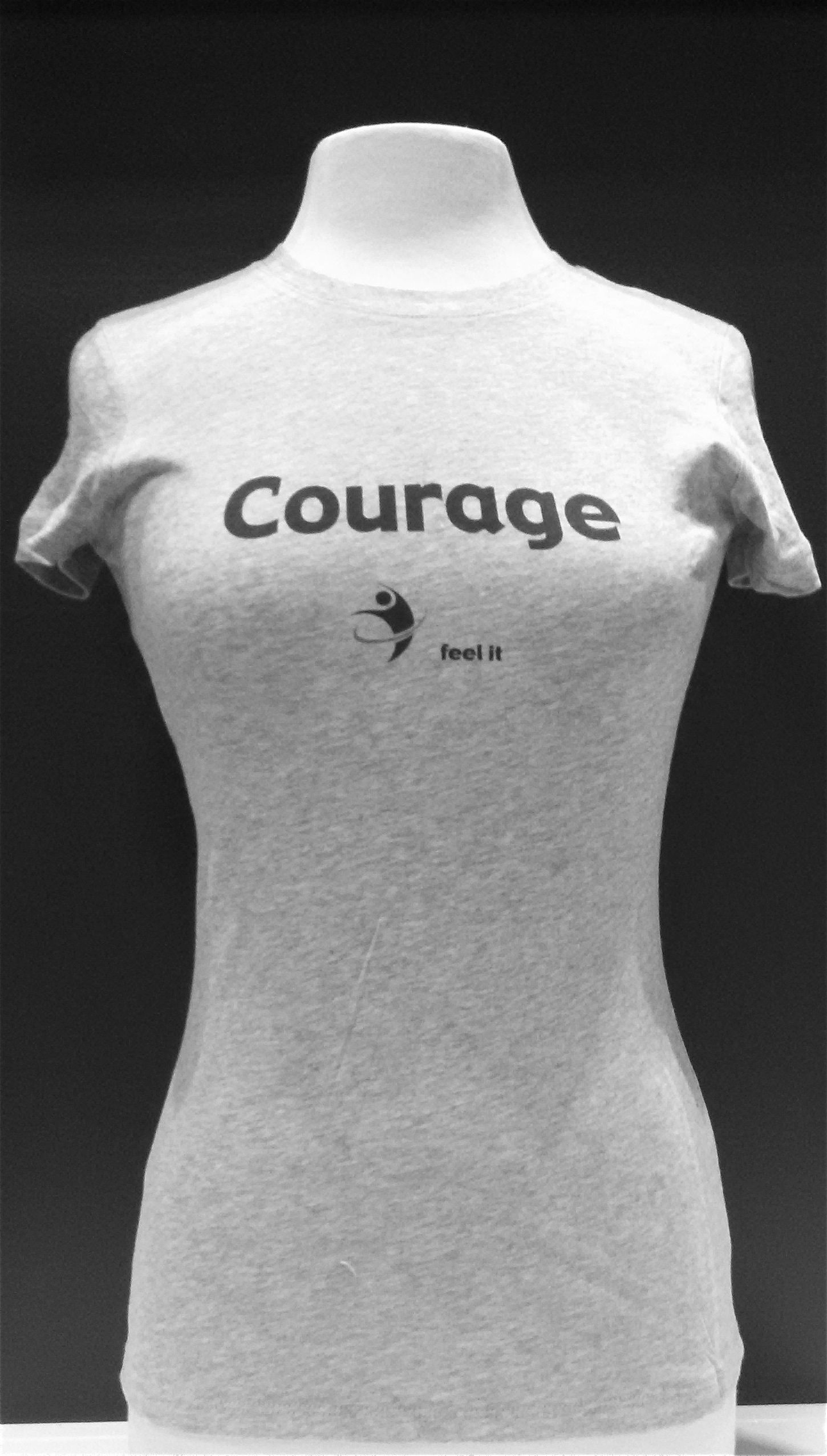 Courage T Shirt Perception